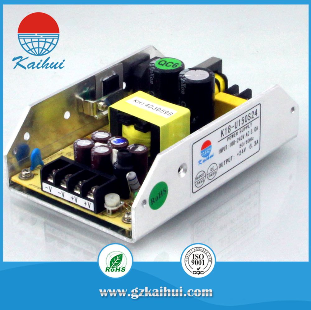 high quality open frame 240vac to 12vdc kaihui power SMPS