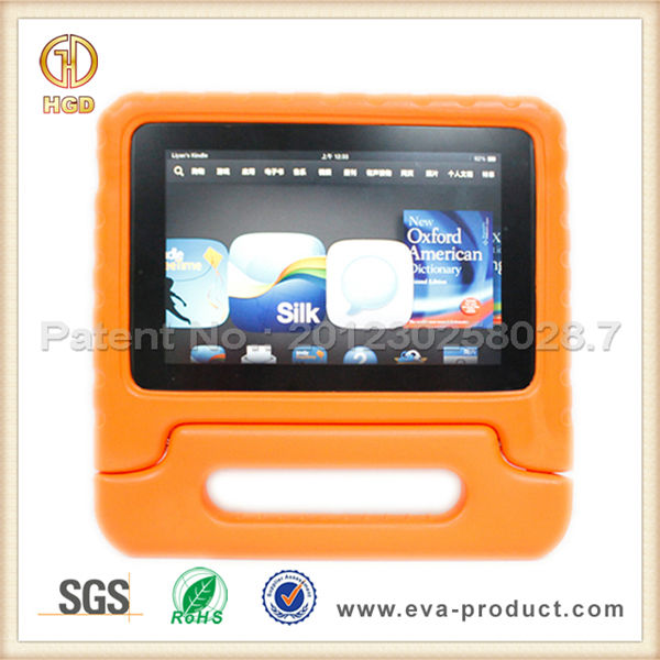 Hot rubber bumper case for kindle fire hd 2013