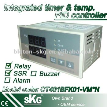 CT401BFK01-VM*N temperature and timer control in one