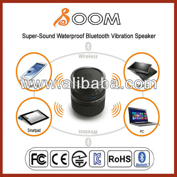 Latest Super-Sound Waterproof Bluetooth Vibration Speaker