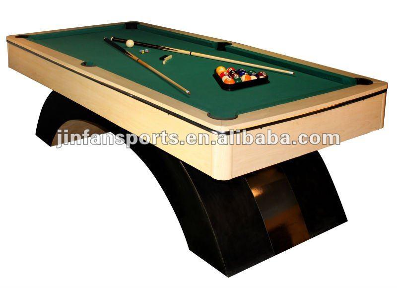 De madera s lida de lujo mesa de billar 8 pies mesas de for Mesas de billar de lujo
