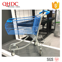 100l 4 wheel shopping trolley supermarket shopping carts