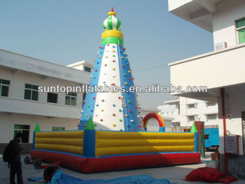 hot inflatable climbing sport game with customized design and size