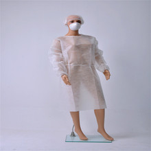 pictures of latest disposable hospital nurse fabric doctor gown