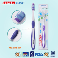 Strong non-slip cross shaping tufting filament Toothbrush