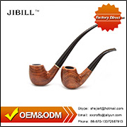 Hand Carved Briar Italy Tobacco Pipes with Gift Box for Wholesale Smoking Pipes Accessories