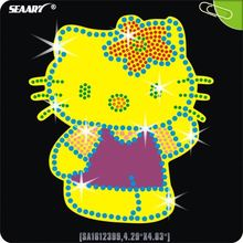 Mini Kitty Rhinestone Hot Fix Transfers Design