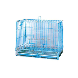 High Quality Portable Foldable Metal Wire Pet Cage Dog Crate D401