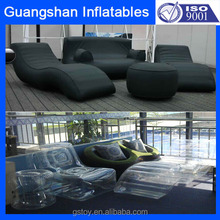 Custom 4 PCS luxury Inflatable living room sets sofa and chair