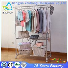 high stability foldable bedroom clothes hanger wardrobe