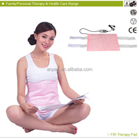 2014 New product MHP-E1215D FIR Neck Shoulder Massage Therapy health battery operated heating electric heating pad body warmer