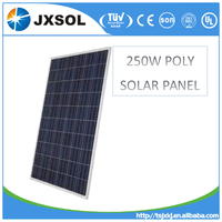 best quiality good rate poly 250w pv panel,solar module manufacture