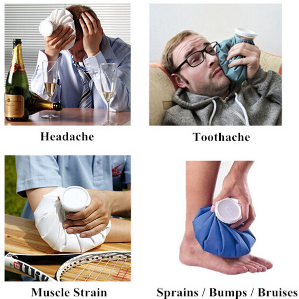 2017 Best Selling Medical Ice Bags for Headache , Sports Injury