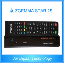 HD zgemma-star 2s digital satellite receiver twin dvb-s2 tuner set top box recorder