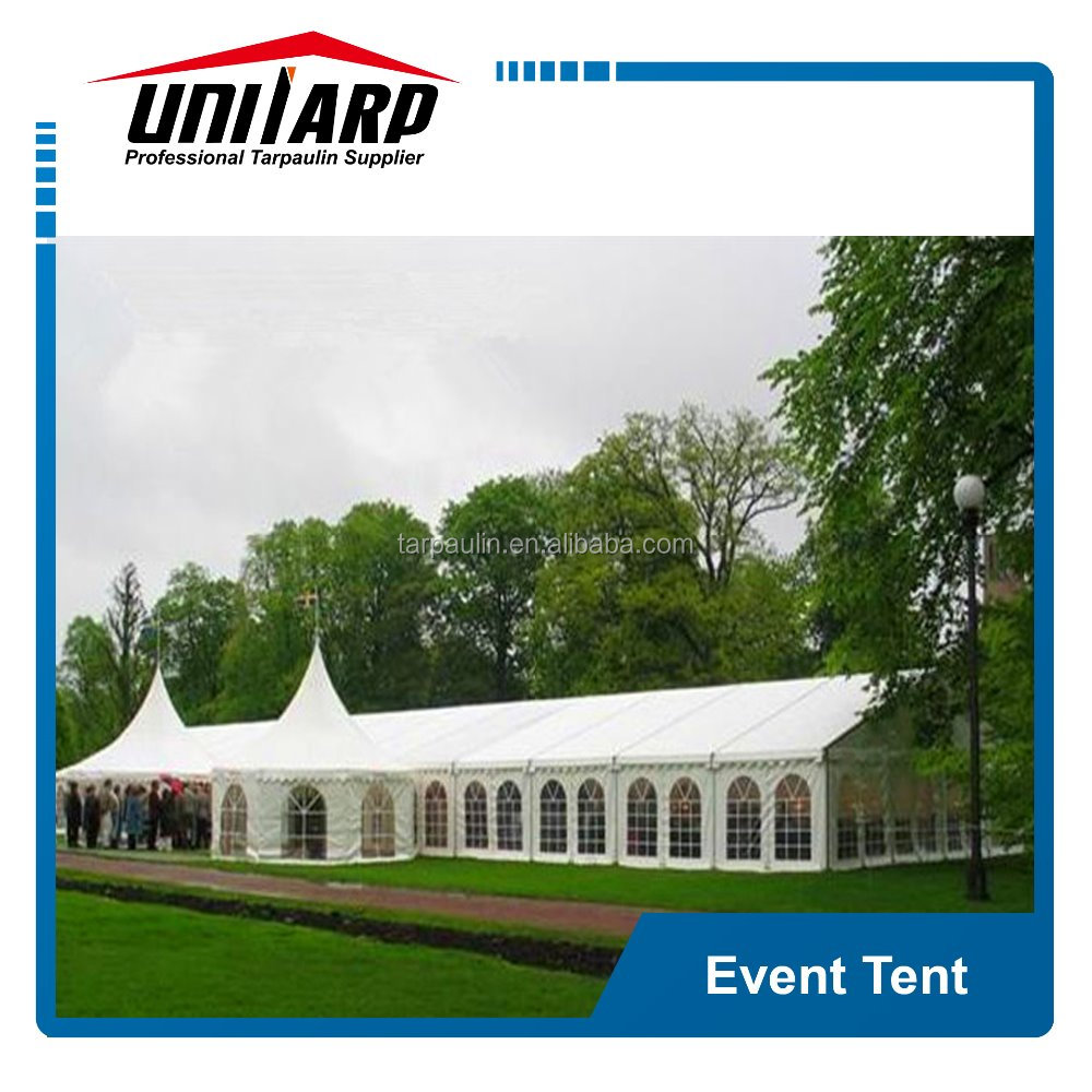 Large big top event tents