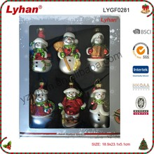 mini Christmas snowman for christmas tree decoration