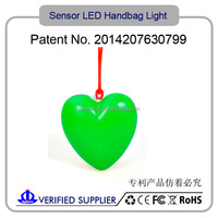 New Sole Design Hand Bag Light / Promotion Gift Flashing Led Ring Bag Light