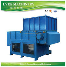 Pipe/film/bottle/tyre shredder/shredder plastic machine for PET PP PE