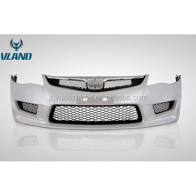 Factory Car Accessories For civic 2006-2011 body kits front bumper and middle grill