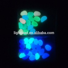 Garden decoration glowing artificial pebble stone
