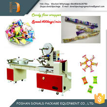 Foshan High Speed Flow Type Automatic Sealing Wrapping Machine for Candy