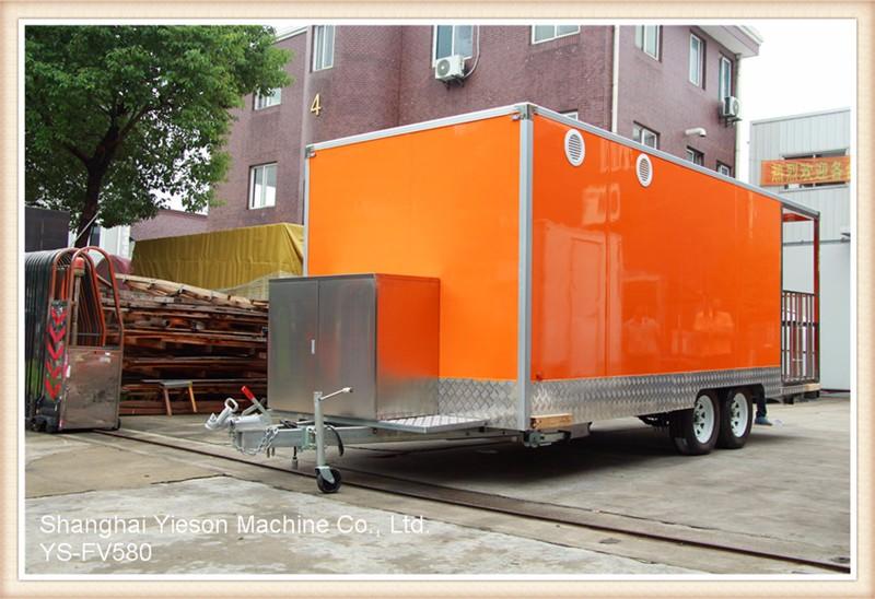 Ys fv580 large roomy best selling food truck juice bar for Food truck juice bar