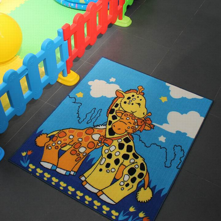 Custom Design Kid Area Rugs for Kids Playing