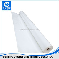 Fabric reinforced TPO waterproof membrane suitable for swimming pools