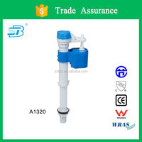 Adjustable toilet fill valve with silent design (A1320)