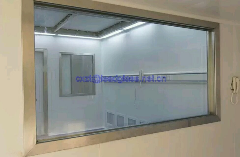2mmpb x ray shielding screen lead glass from China manufacture