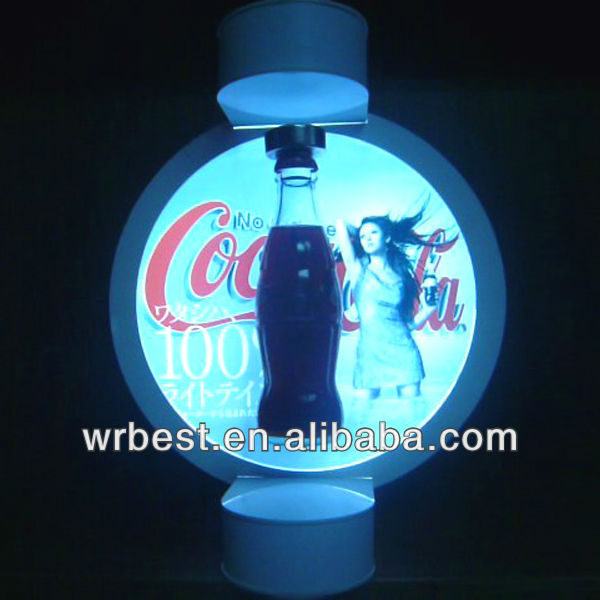 New Technology ! Magnetic Levitating Promotion Display Stand,Beverage display standW-7021