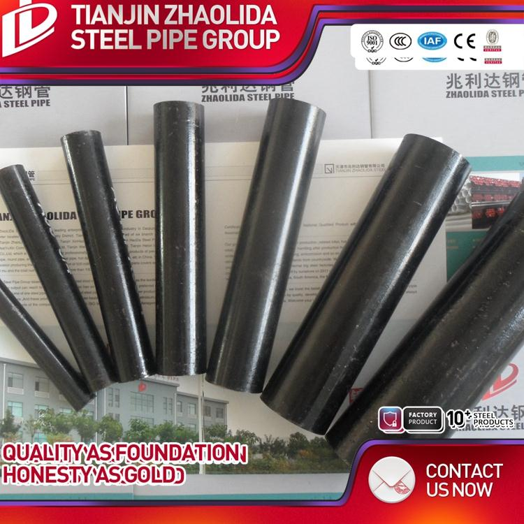 ASTM A500 GR A B WELDED carbon distributors black ms tube bs 1387 85 galvanized steel pipe with high quality