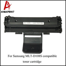 Best price cartridge Replacement MLT-D108S Laser toner Cartridge for Samsung Printers bulk buy from china
