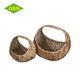 Wholesale recycled rattan basket for Christmas gift