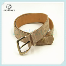 2016 New Arrival Wholesale Hot Sale Leather Belt ,PU Leather Belt with crystal rhinestone