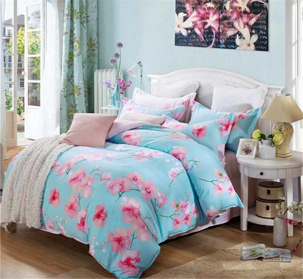 Brand new latest design bed sheet set with high quality