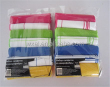 printed microfiber dish cleaning cloth