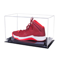 high quality customized acrylic football boot display case, cheap price transparent Luxury acrylic shoe box with UV Protection
