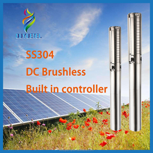 High pressure solar water pumps solar dc pump 4hp solar energy submersible water pumps