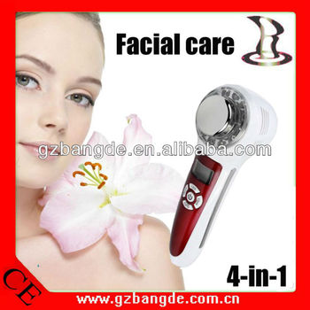 2016 new home use/beauty salon beauty machine--Mini Ultrasonic face lift microcurrent machine BD-CS010