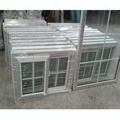 Cheap price grills design PVC sliding windows