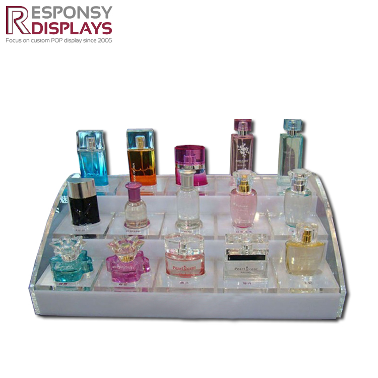 Acrylic Perfume Cosmetic Display Tray