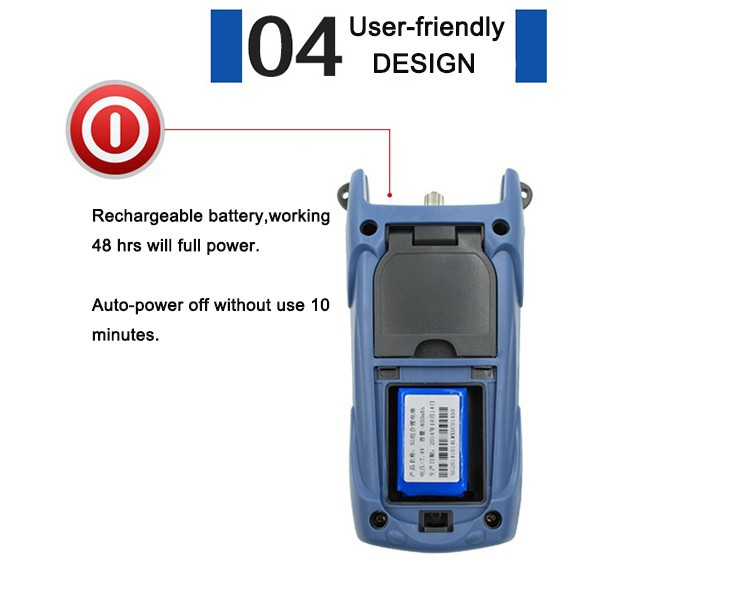 universal SC/FC/ST fiber optic cable laser optical power meter