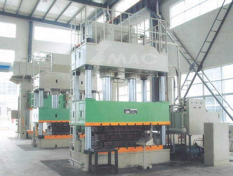 SMAC heavy duty and high precision double action hydraulic drawing press
