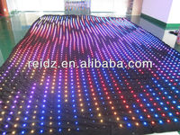 LED curtain background harvest festival decorations