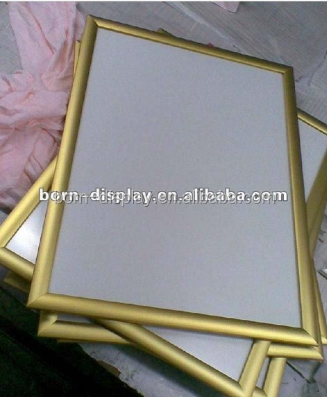 New Design back board is Pllastic Wooden MDF 25MM Colourdful Aluminum Frame Matel Snap Frame