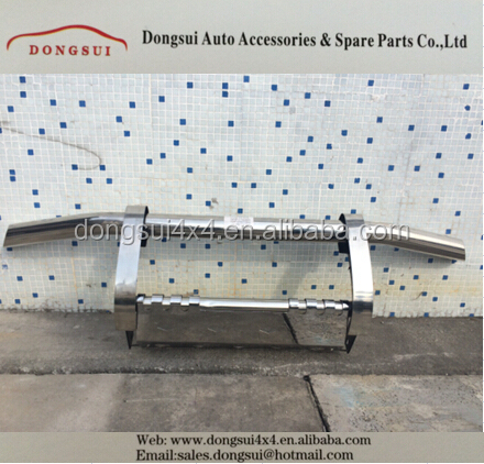 stainless steel front bumper guard, grille guard,car accessories for MITSUBISHI PAJERO V73