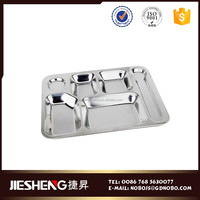 stainless steel coupe dinner plate