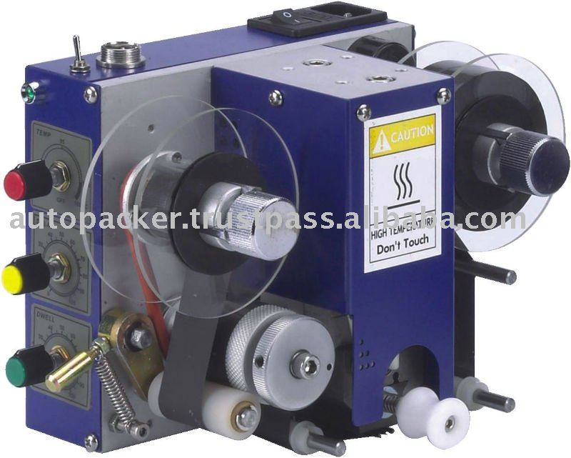 Pneumatic Hot Foil Date Coding Machine