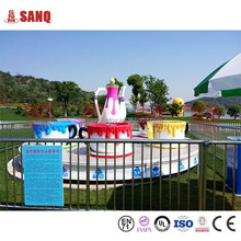 Amusement Rotating Coffee Cup Rides For Park